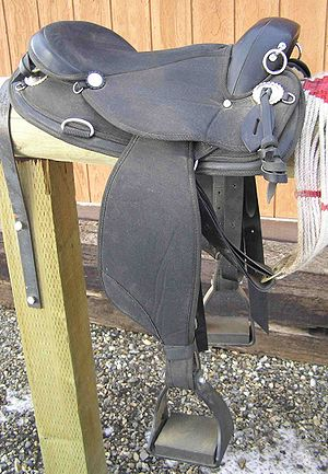 Endurance riding - Image: Endurance Saddle