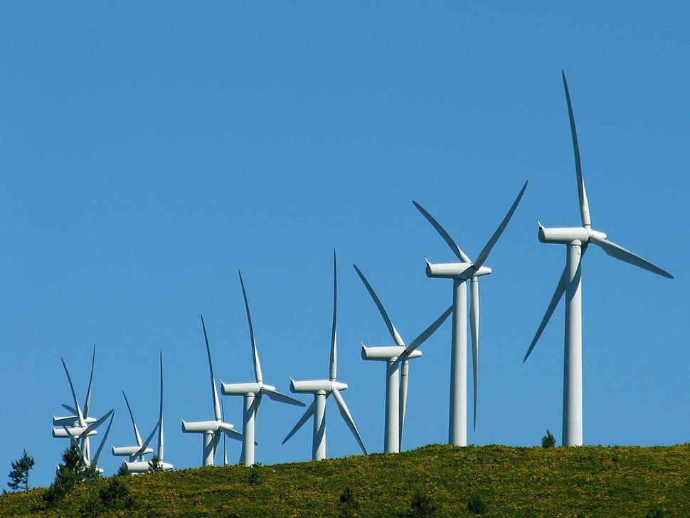 Enerxía eólica - O Pindo - Galicia