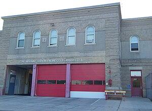 Hartford Fire Department - Image: Engine Co 2 Fire Station Hartford CT