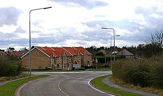 Great Coates - Image: Entering Great Coates geograph.org.uk 387065