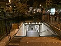 Entrée Station Métro Mairie Montreuil Montreuil Seine St Denis 3.jpg