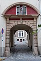 Entrance portal former Clarisses Monastery Echternach, Luxembourg 2012-08.jpg
