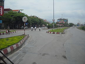 Entrance to Uông Bí.JPG