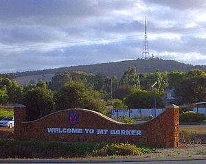 Mount Barker, Western Australia - Mount Barker Hill with TV tower in background