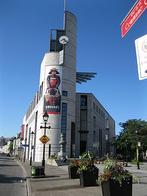 Pointe-à-Callière Museum - The Éperon building