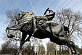 Equestrian statue called Physical Energy in Hyde Park in the City of Westminster, London in spring 2013 (12).JPG