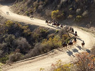 Griffith Park - Equestrian use of utility roads