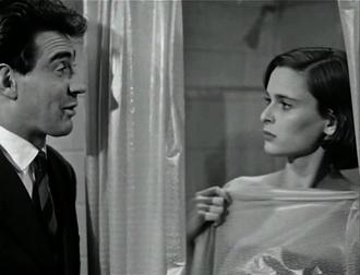Walter Chiari - Chiari and Lucia Bosè in Era lei che lo voleva (1952)
