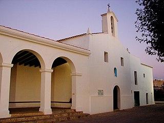 Jesús (Ibiza) Village in Balearic Islands, Spain