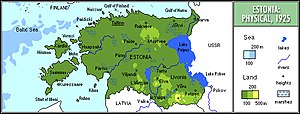 Autonomous Governorate of Estonia - The joined governorates was located approximately on the later territory of Estonia.