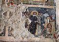 Età di giovanni VII, vita di cristo e apostoli entro clipei, 705-707, 10 via crucis.jpg