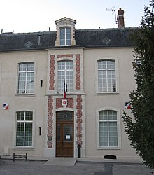 The town hall of Étampes-sur-Marne