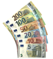 Euro banknotes, Europa series.png