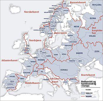 europa kart elver Glommavassdraget – Wikipedia europa kart elver