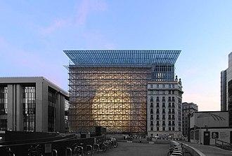 Europa building - Image: Europa building February 2016