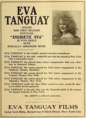 Eva Tanguay - Advertisement (1916)