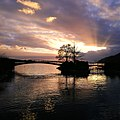 Evening light over lake of bienne by ka l-o-k graphic arts.jpg