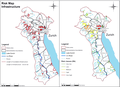Exposure-left-and-relative-risk-right-map-for-infrastructure-roads-railways-pathways.png
