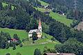 Fügenberg - Filialkirche St Pankraz mit geschützter Umgebung.jpg