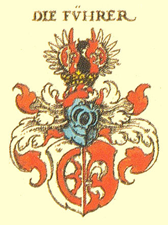 Christoph von Fürer-Haimendorf - Coat of arms of the House of Fürer-Haimendorf
