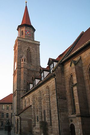 Fürth - St. Michael, with West Tower