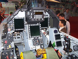 AIDC F-CK-1 Ching-kuo - F-CK-1C/D cockpit view