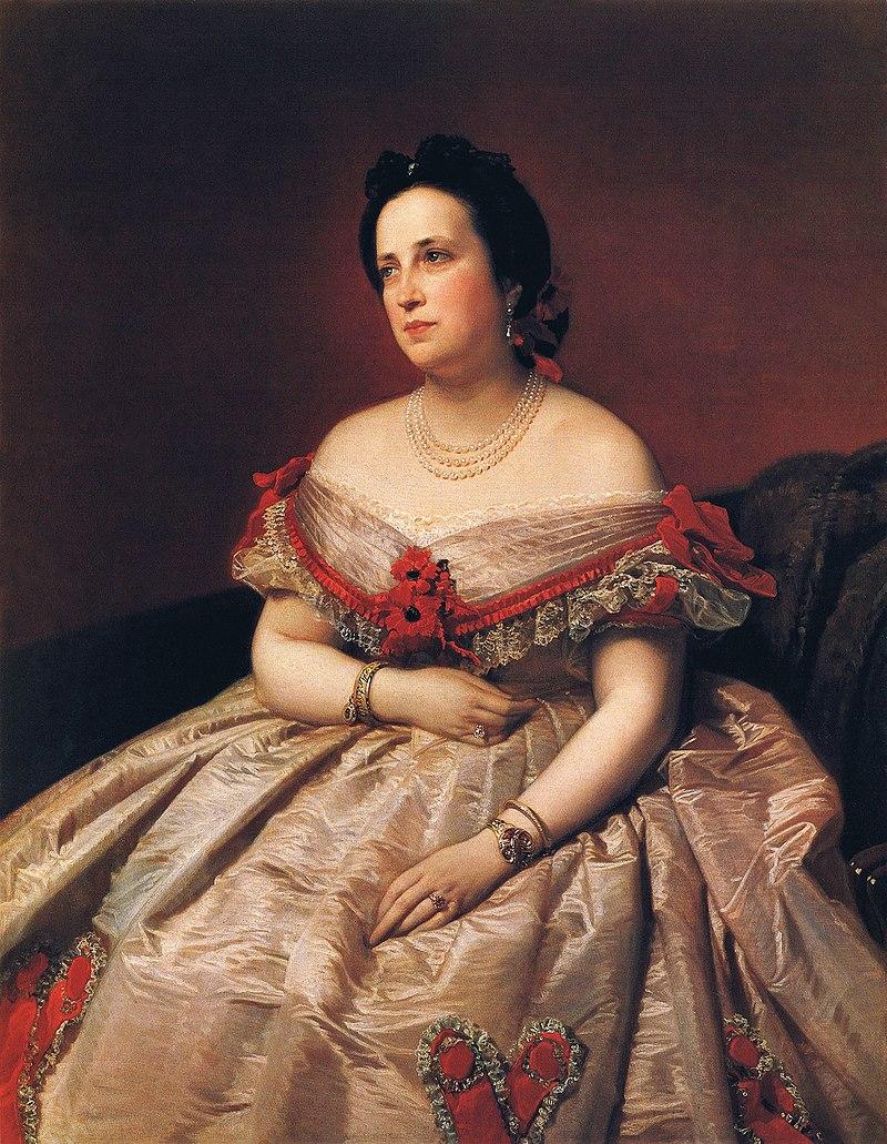 F. de Madrazo - 1863, Rosa Guardiola, Baronesa de Andilla (Colección particular, Madrid, 126 x 78 cm).jpg