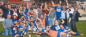Mellieħa S.C. - Image: FA Cup winners
