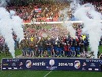 FC Viktoria Plzeň - Czech League title celebration May 2015 - 06.JPG