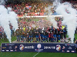FC Viktoria Plzeň - Czech League title celebration May 2015 - 06.JPG
