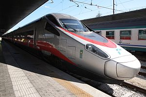 High-speed rail in Italy - ETR 600 ''Frecciargento'' (Trenitalia)