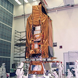 Far Ultraviolet Spectroscopic Explorer - FUSE in a pre-launch cleanroom