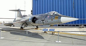 Lockheed bribery scandals - Lockheed F-104G Starfighter in Luftwaffe markings