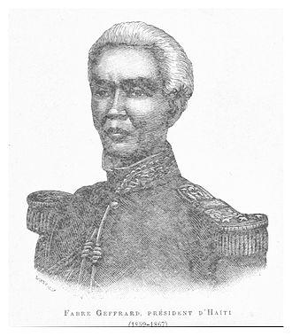 Fabre Geffrard - Image: Fabre Geffrard (President d'Haiti 1859 1867)
