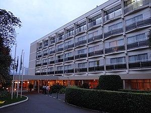 Hôtel des Mille Collines - Hôtel des Mille Collines front entrance