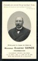 Faire-part de décès de Eugène Gonze, pharmacien mort à Nalinnes le 10 avril 1904.png