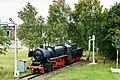 Falkenberg Bahnhof Lok BR 52-02.jpg