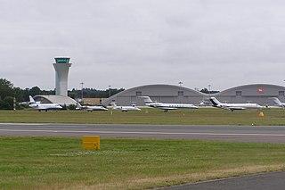 Farnborough Airport airport in the United Kingdom