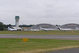 Farnborough Airport - Image: Farnborough 2008 073