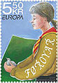Faroese stamp 599 scouts.jpg