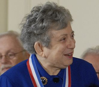 Fay Ajzenberg-Selove - Fay Ajzenberg-Selove receiving the National Medal of Science in 2008