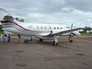Federal Air - A Federal Air British Aerospace Jetstream 31 in Ulusaba.