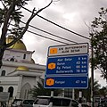 Federal Route 1 Jalan Butterworth Alor Setar sign with destinations and distances to them.jpg