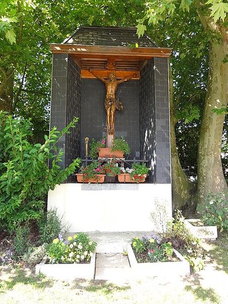 Feignies (Nord, Fr) chapelle au lieu-dit de La Savate