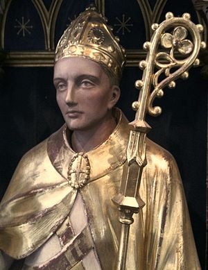 Felix of Burgundy - Felix of Burgundy, as depicted in the reredos in St Peter Mancroft, Norwich