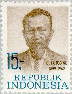 Ferdinand Lumbantobing 1969 Indonesia stamp.jpg