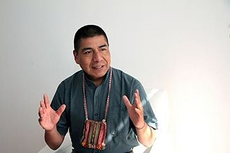 Fernando Huanacuni Mamani - An interview appearance in 2014
