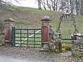 Field and church gateways, Kirkoswald - geograph.org.uk - 1143300.jpg