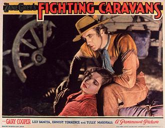 Fighting Caravans - Gary Cooper and Lili Damita