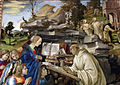 Filippino Lippi, Apparizione della Vergine a san Bernardo, 1482-86, 08.JPG